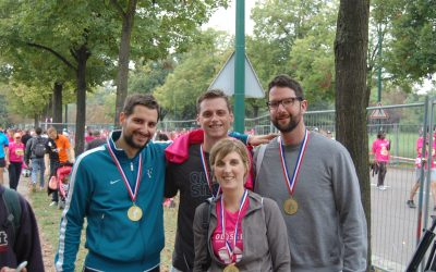 RMS participates in the 10k Odyssea Charity Run in France