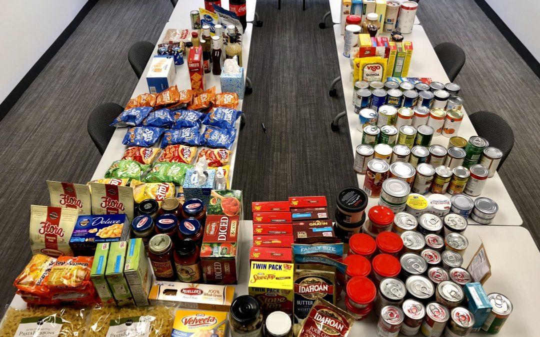 RMS hosted a food drive helping over 1,300 families in the Tampa Bay area