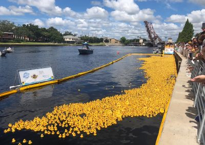 On your marks, get set, GO! RMS adopts rubber ducks for Tampa's Incredible Duck Race