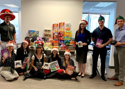 RMS spreads holiday cheer