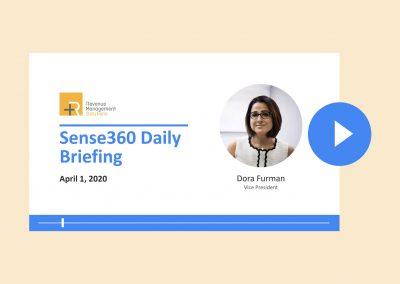 Sense360 Briefing with Dora Furman